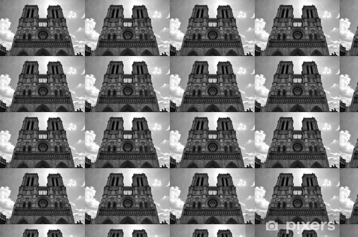 Vinylová tapeta na míru Notre Dame, Paříž - Evropská města