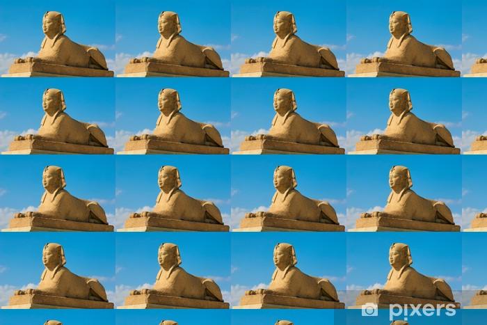 Spesialtilpasset vinyltapet Pompey sfinx - Europa