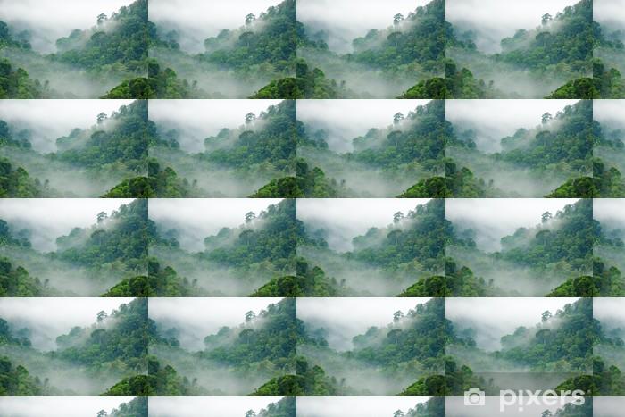 Tapeta na wymiar winylowa Poranna mgła w lesie tropikalnym - Tematy