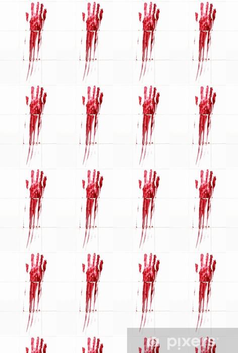 Papier peint vinyle sur mesure Assassiner de sang - Thèmes
