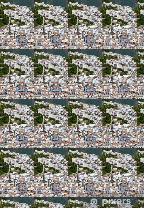 Papel pintado estándar a medida El village blanco de Frigiliana, Andalucía, España - Temas