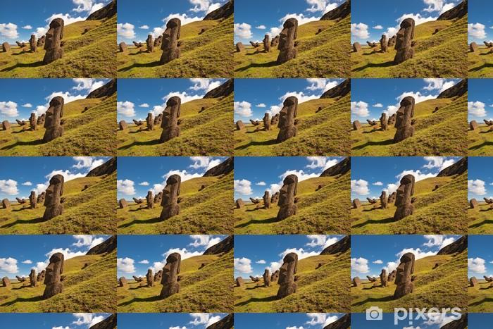 Tapeta na wymiar winylowa Wielkanoc Statues Wyspa - Ezoteryka