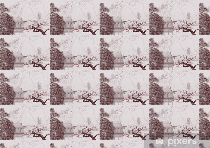 Vinyl behang, op maat gemaakt Chinese landschap - Stijlen