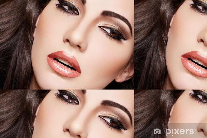 Tapete Sinnlichen Arabischen Frau Modell Schone Haut Gesattigt