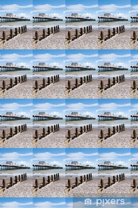 Tapeta na wymiar winylowa Pionowa Worthing Pier i plaży - Inne