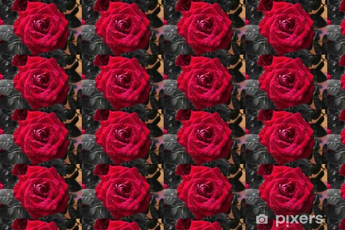 Vinyltapete nach Maß Roza - Blumen