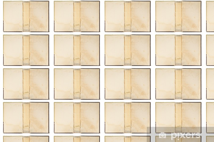 Vinyl behang, op maat gemaakt Oude boek cover textuur - Lezen