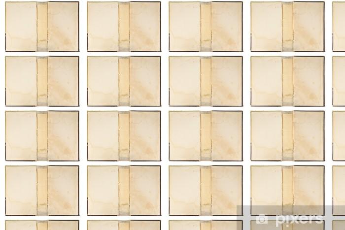 Carta da parati in vinile su misura Copertina di vecchio libro trama - Lettura