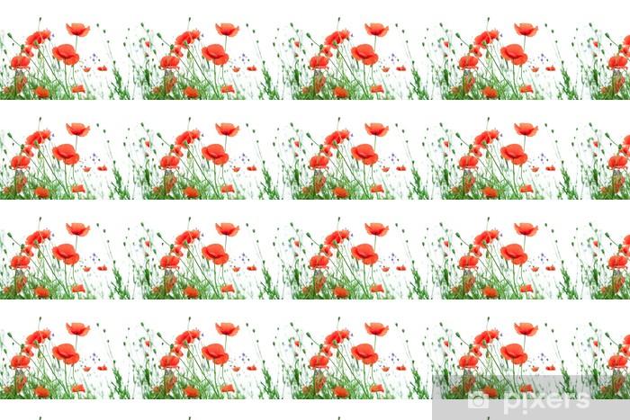 Tapeta na wymiar winylowa Kwiat maku - Kwiaty