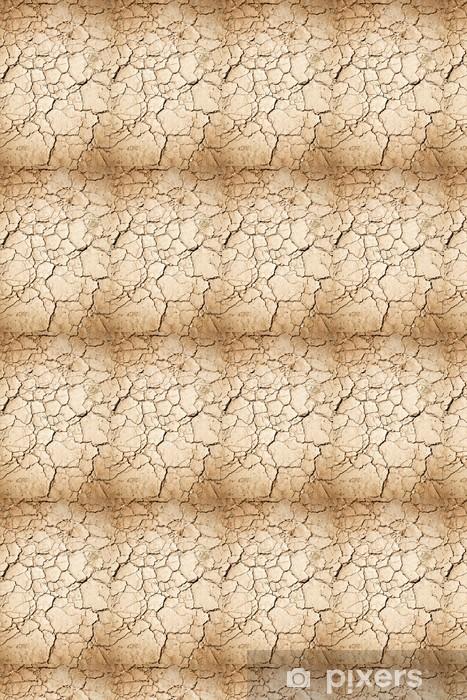 Papier peint vinyle sur mesure Terre sèche - Ecologie