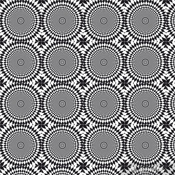 Vecteur Illusion Doptique Wallpaper Vinyl Custom Made