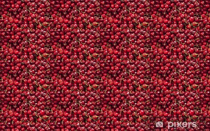 Papier peint vinyle sur mesure Cherries - Repas