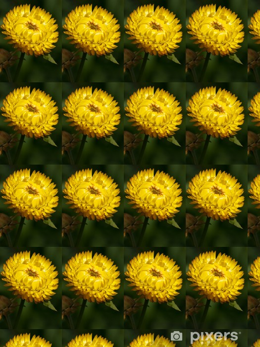 Papier peint vinyle sur mesure Kocanka jardin - Fleurs