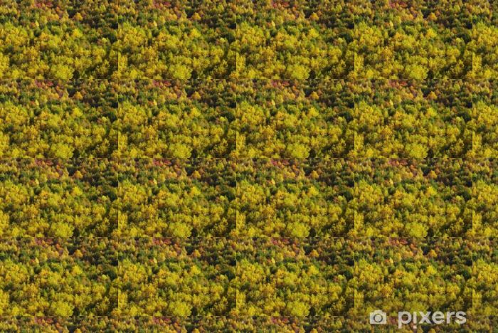 Papier peint vinyle sur mesure Les feuilles rouges - Nature