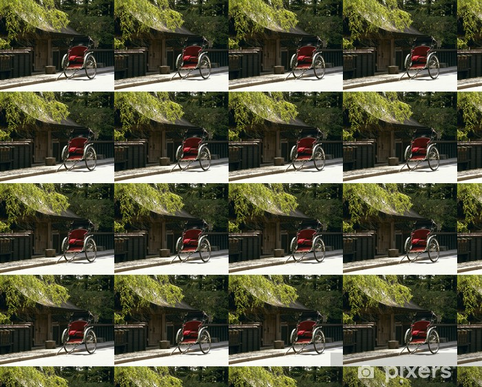 Carta da parati in vinile su misura 人力車 - Criteo