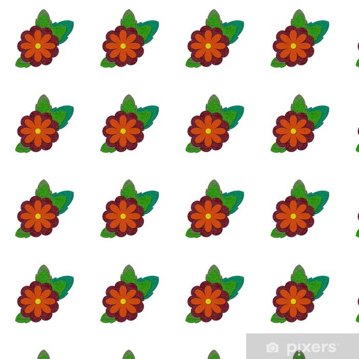 Tapeta na wymiar winylowa Filc kwiat - Kwiaty