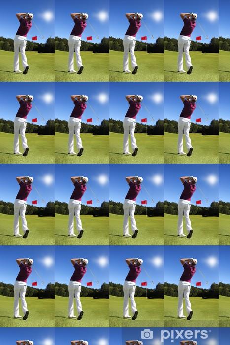 Vinylová tapeta na míru Člověk hrát golf - Golf