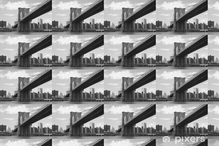 Papier peint vinyle sur mesure Lien vers manhattan - Villes américaines