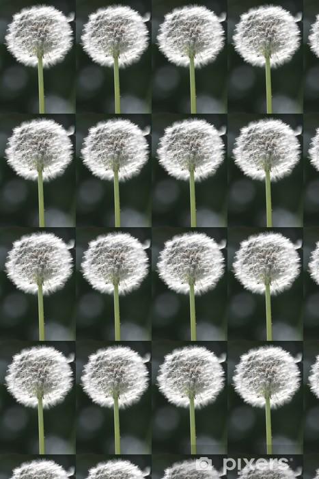 luminous feathery dandelion Vinyl custom-made wallpaper - Themes