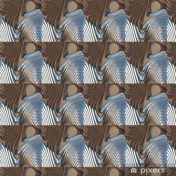 Vinylová tapeta na míru Abstraktní 3d tavené pozadí - Struktury