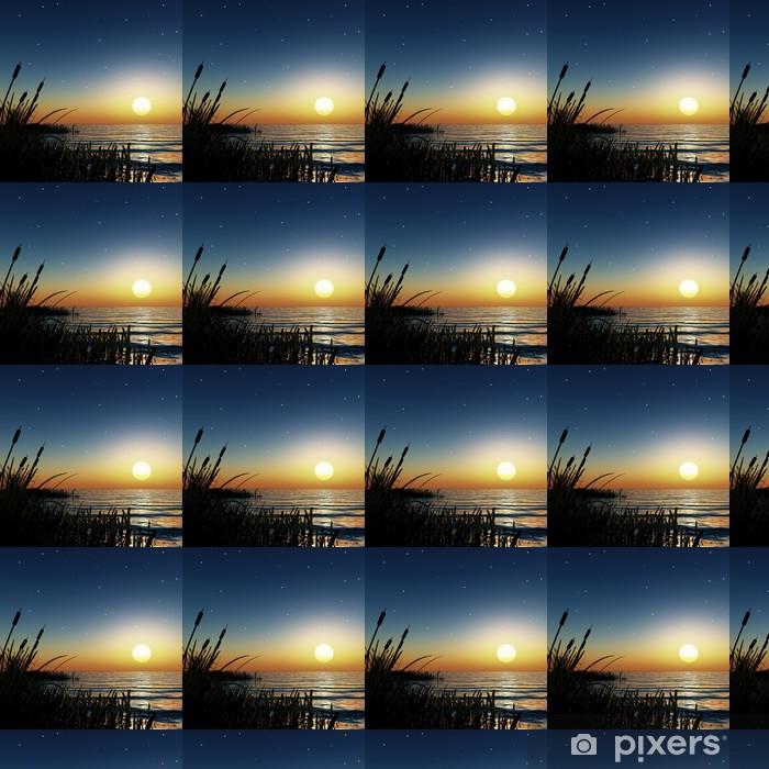 Tapeta na wymiar winylowa Starry sunset - Niebo