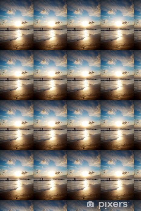 Papier peint vinyle sur mesure Coucher de soleil doré à Bali - Ciel
