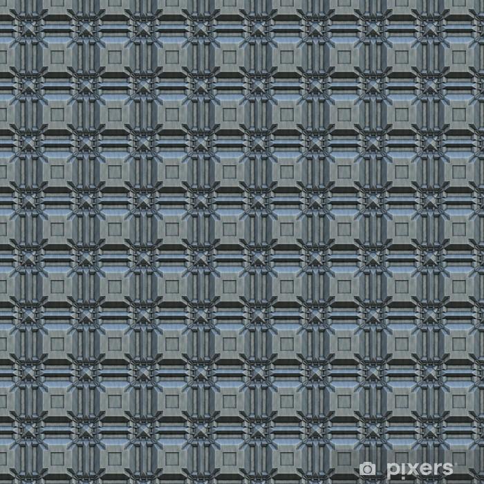 Vinylová tapeta na míru Struktura z kovu. vesmírná loď textury - Struktury