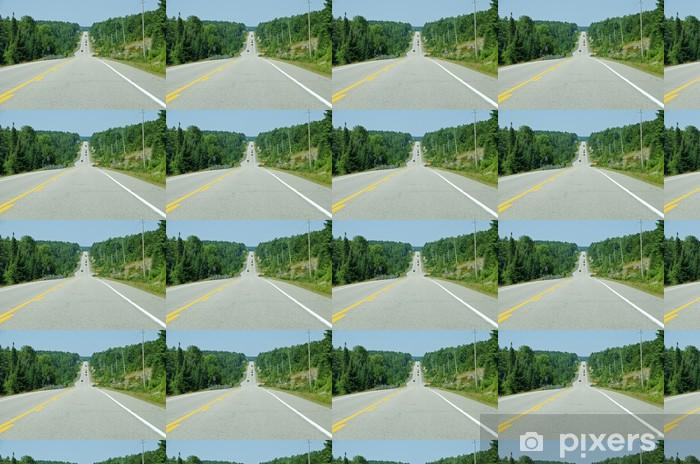 Papier peint vinyle sur mesure Grande route - Thèmes