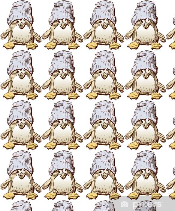 Tapeta na wymiar winylowa Cub pingwin - Ptaki