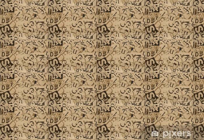 Papier peint vinyle sur mesure Courrier - Textures
