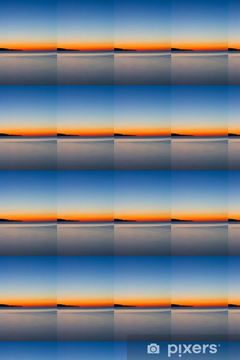 Papier peint vinyle sur mesure Coucher de soleil - Ciel