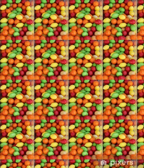 Papier peint vinyle sur mesure Bonbons en forme de fruits - Thèmes