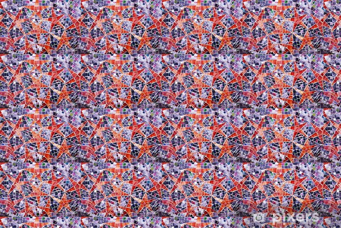 Tapeta na wymiar winylowa Stars - tło abstrakcyjne mozaiki - Tła