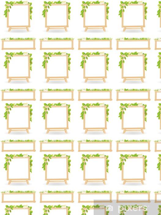 Tapeta na wymiar winylowa Rama wektor liści - Ekologia