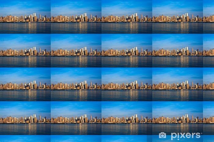 Papier peint vinyle sur mesure Horizon de New York - Villes américaines