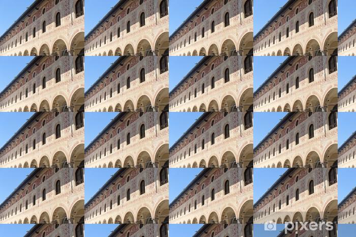 Måttanpassad vinyltapet Vigevano: Piazza Ducale - Monument