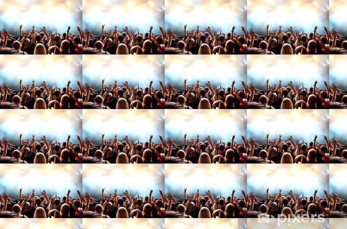Vinylová tapeta na míru Koncert dav před jasných fázi světla - Zábava