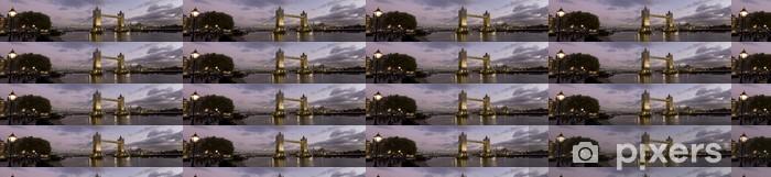 Tapeta na wymiar winylowa Panoramiczny zdjęcie Tower Bridge i rzeki Tamizy, Londyn. - Tematy
