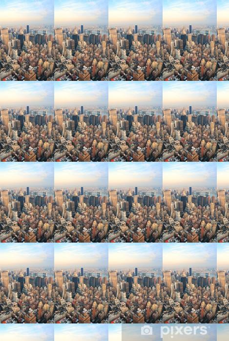 Papier peint vinyle sur mesure New York City Manhattan skyline vue aérienne - Amérique