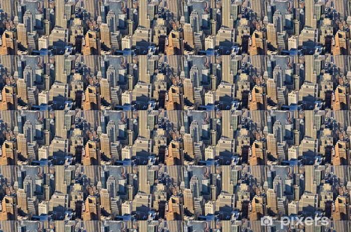 Tapeta na wymiar winylowa Widok z lotu ptaka na Manhattanie - Miasta amerykańskie