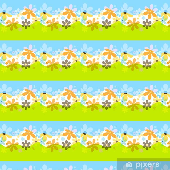 Vinyltapete nach Maß Spring flowers - Jahreszeiten