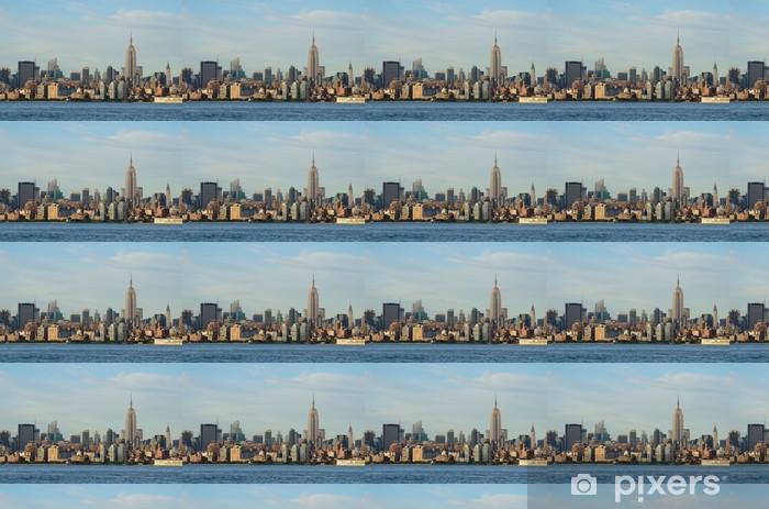 Papier peint vinyle sur mesure Bâtiments emblématiques de Midtown Manhattan - Villes américaines