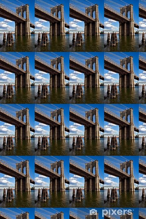 Tapeta na wymiar winylowa Brooklyn Bridge - Infrastruktura