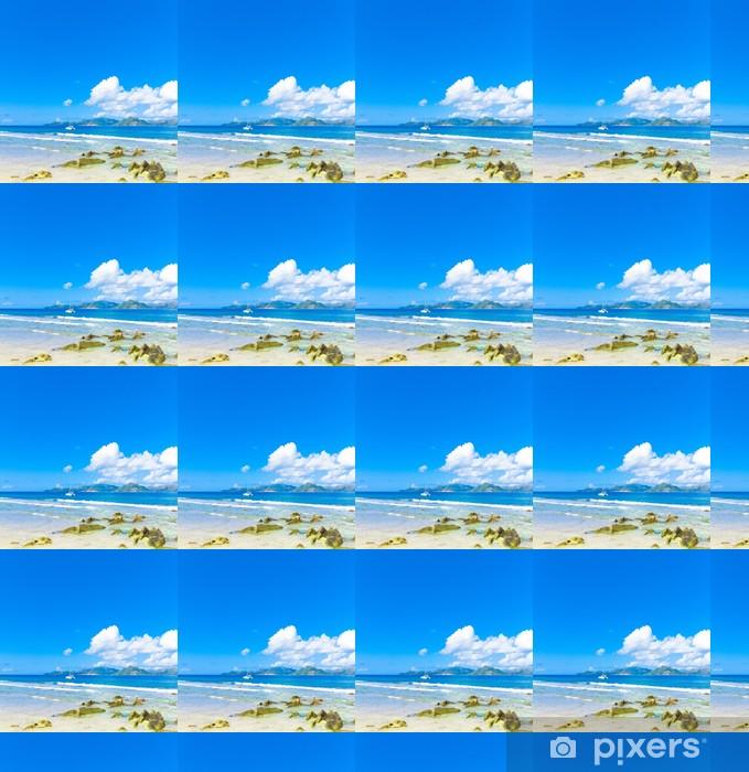 Tapeta na wymiar winylowa Wyspy Morza Skyline - Woda