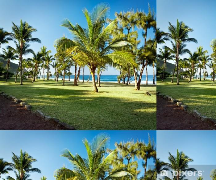 Tapeta winylowa Grande Anse Beach, Reunion - Wakacje
