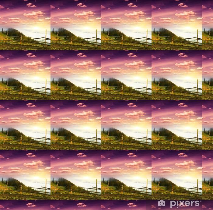 sunset Vinyl custom-made wallpaper - Skies