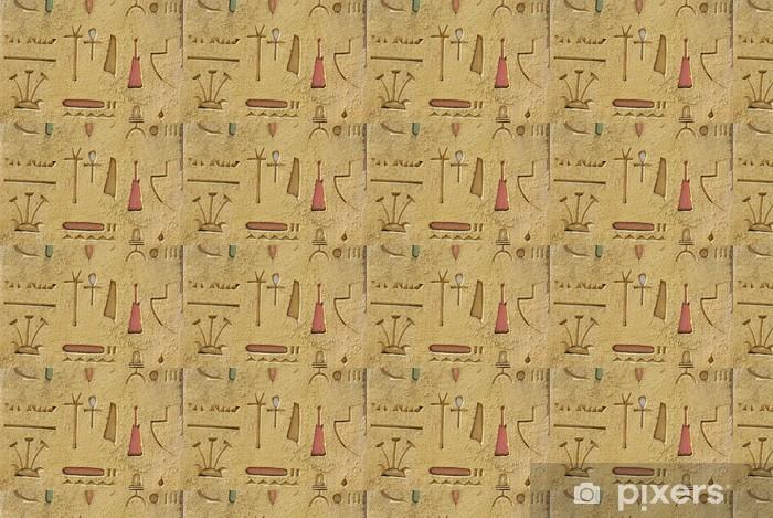 Vinylová tapeta na míru Hieroglyfy - Památky