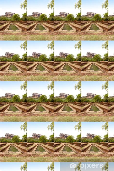 Vinyltapete nach Maß Berühmte Sigiriya Felsen. Sri Lanka - Urlaub