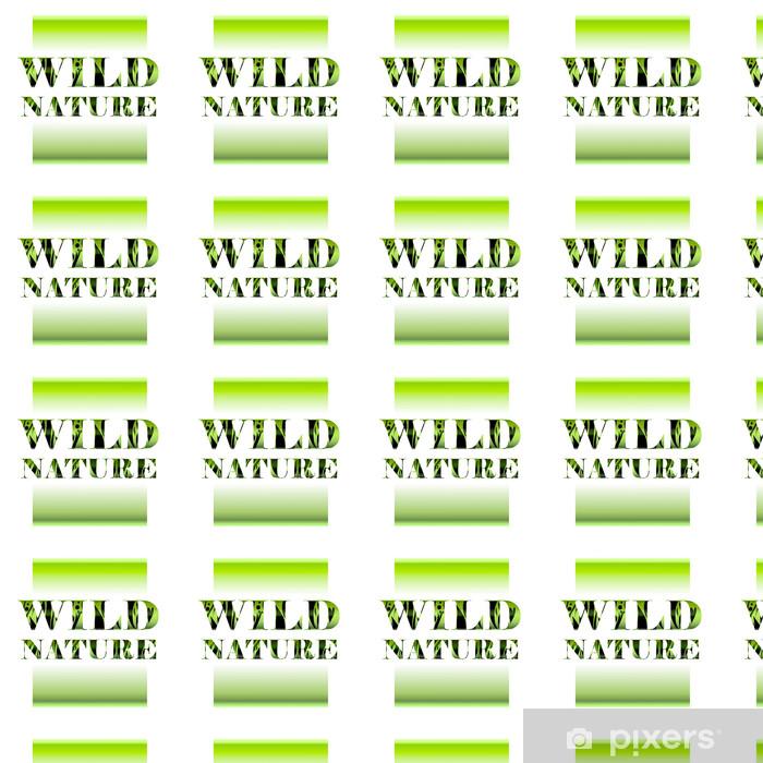 Vinylová tapeta na míru Divoká příroda - Pozadí