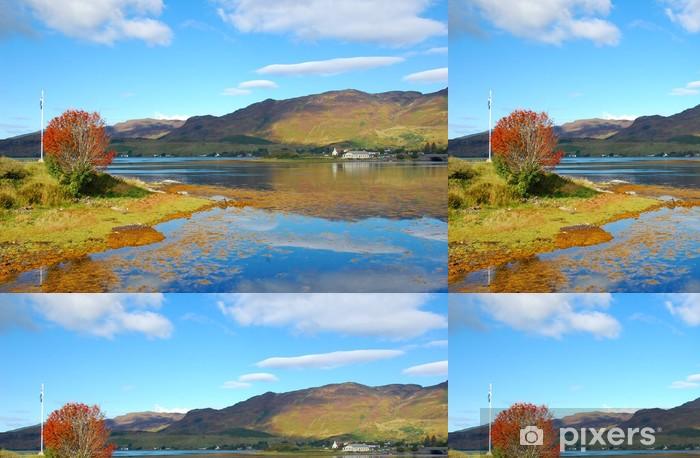 Vinylová Tapeta Podzimu na Loch Duich, Skotsko - Evropa